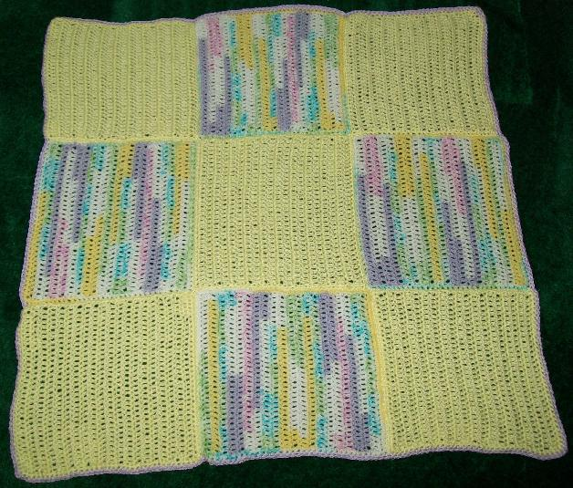 Crochet Patterns For Baby Blankets Squares : The Crafty Princess Diaries Crochet Squares Baby Blanket ...