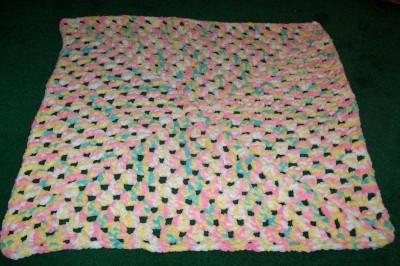 Free Knitting Pattern: Homespun® Knit Bright Stripes Baby