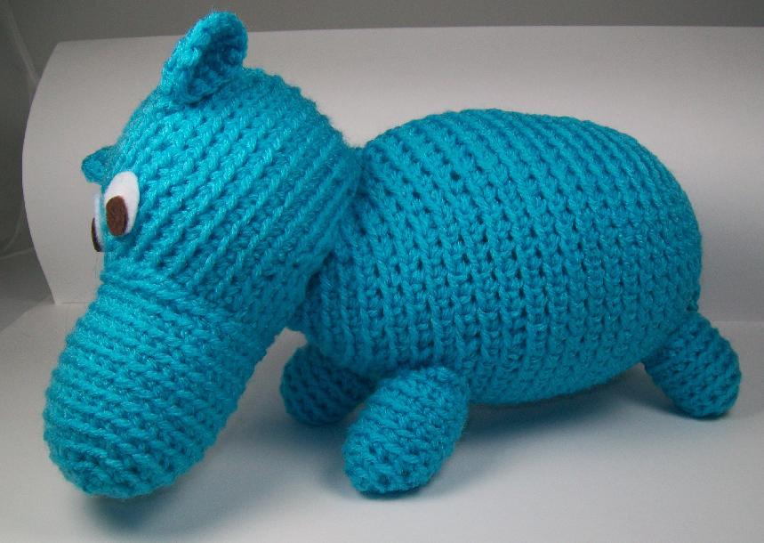 Ballerina hippo   Top Crochet Patterns   610x859